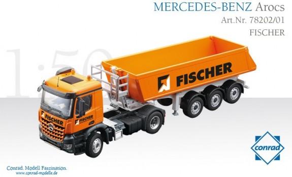 MERCEDES-BENZ Arocs 2-axle tractor FISCHER