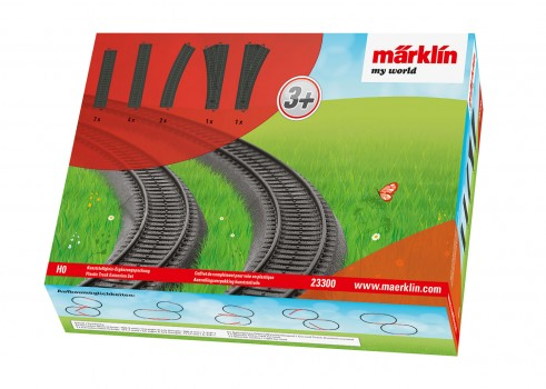 Plastic Track Extension Set